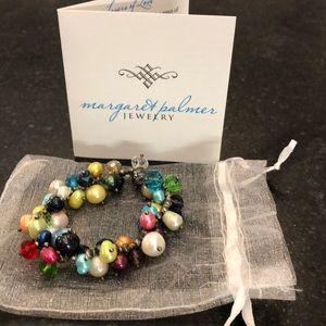 Margaret Palmer Cancer Pearl Bracelet